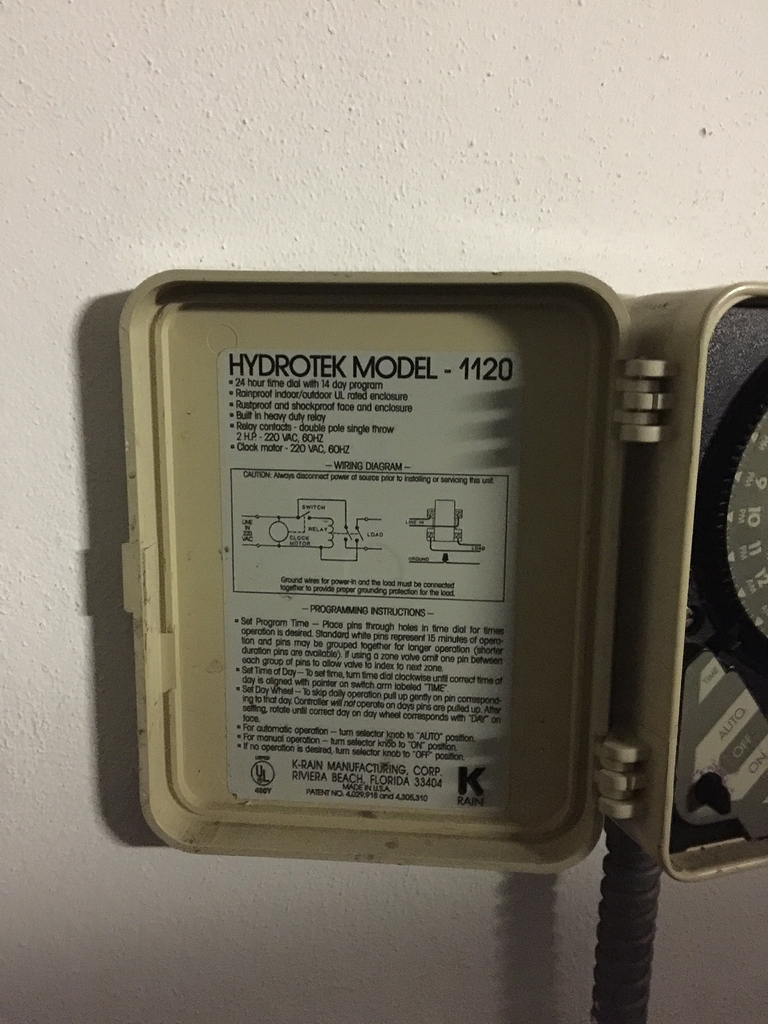 Replacing HydroTek 1120 / 2 Wire(Black and Blue) Only - Archive - Rachio  Community | Hydrotek Wiring Diagram |  | Rachio Community