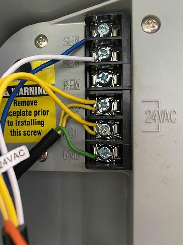 Old Sensor Wiring