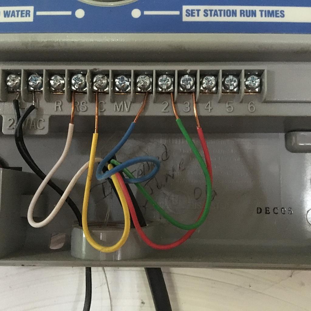 Rain Bird rain Sensor, only one wire - Archive - Rachio Community | Sprinkler Wiring Diagram |  | Rachio Community
