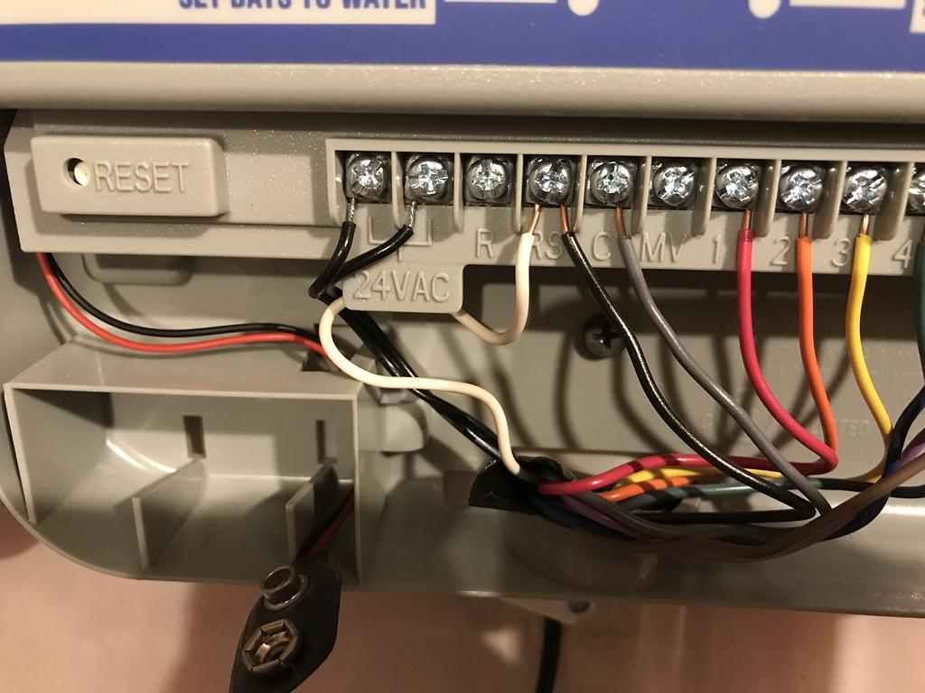 [DIAGRAM_3ER]  Hunter SRC Plus wiring - Wiring - Rachio Community | Hunter Src Wiring Diagram |  | Rachio Community
