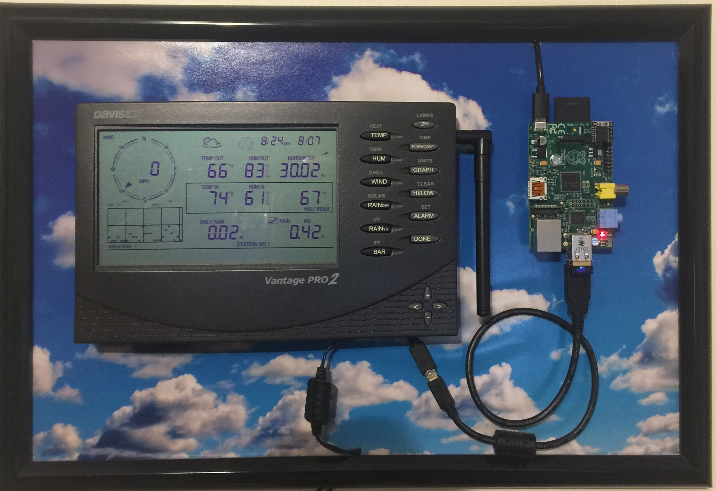 Setting up Personal Weather Station to integrate with rachio