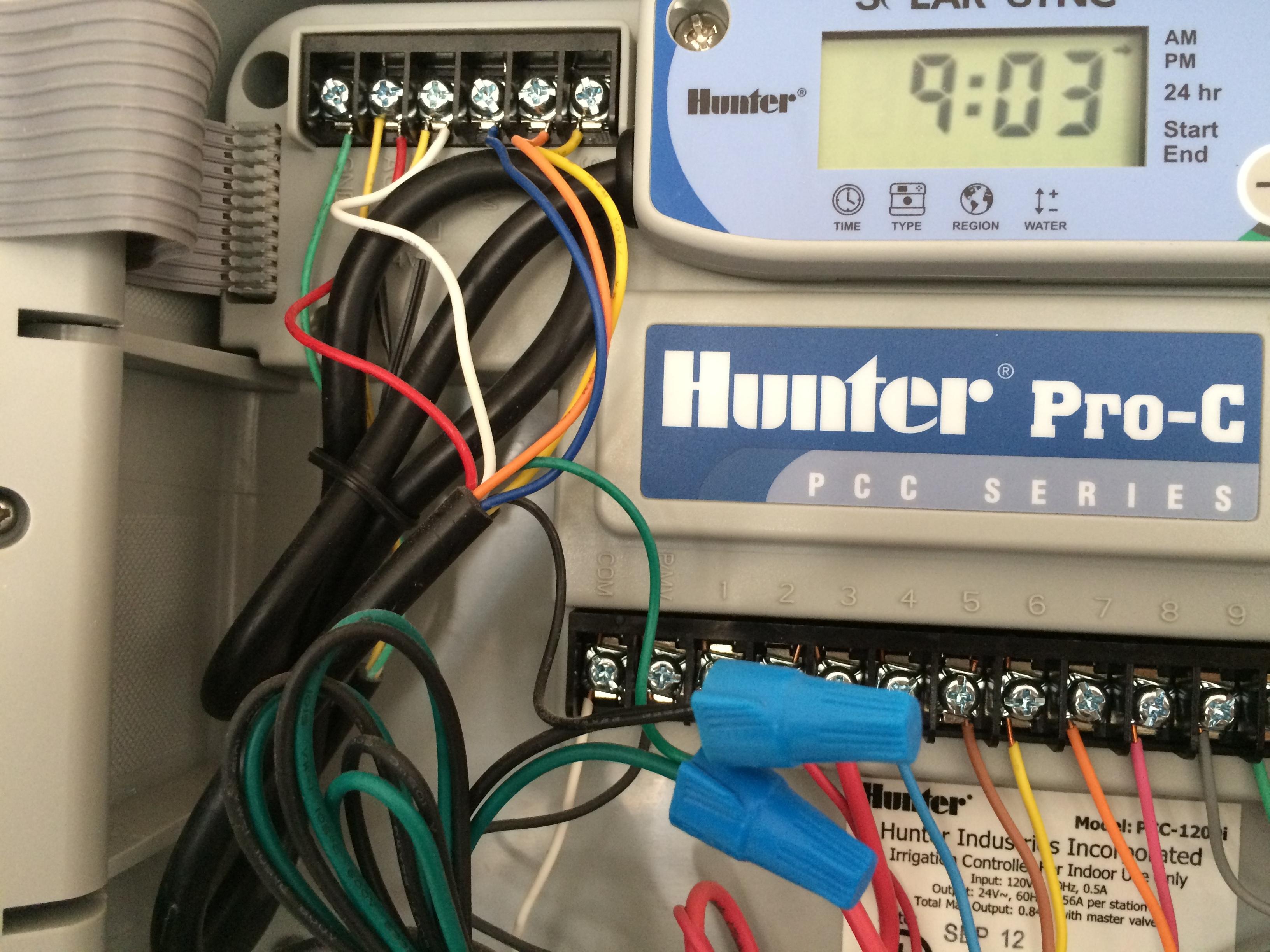 How To Connect Hunter Solar Sync Rain Sensor To Rachio