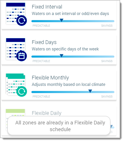 easier way to adjust watering levels flex daily rachio community