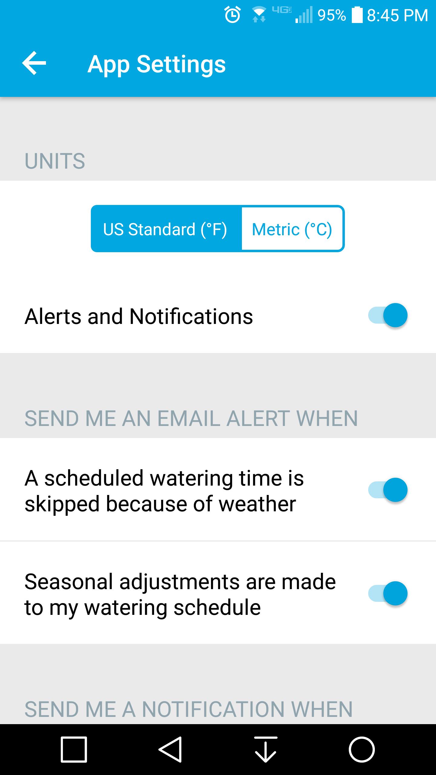 Flex Notifications - Product Suggestions - Rachio Community