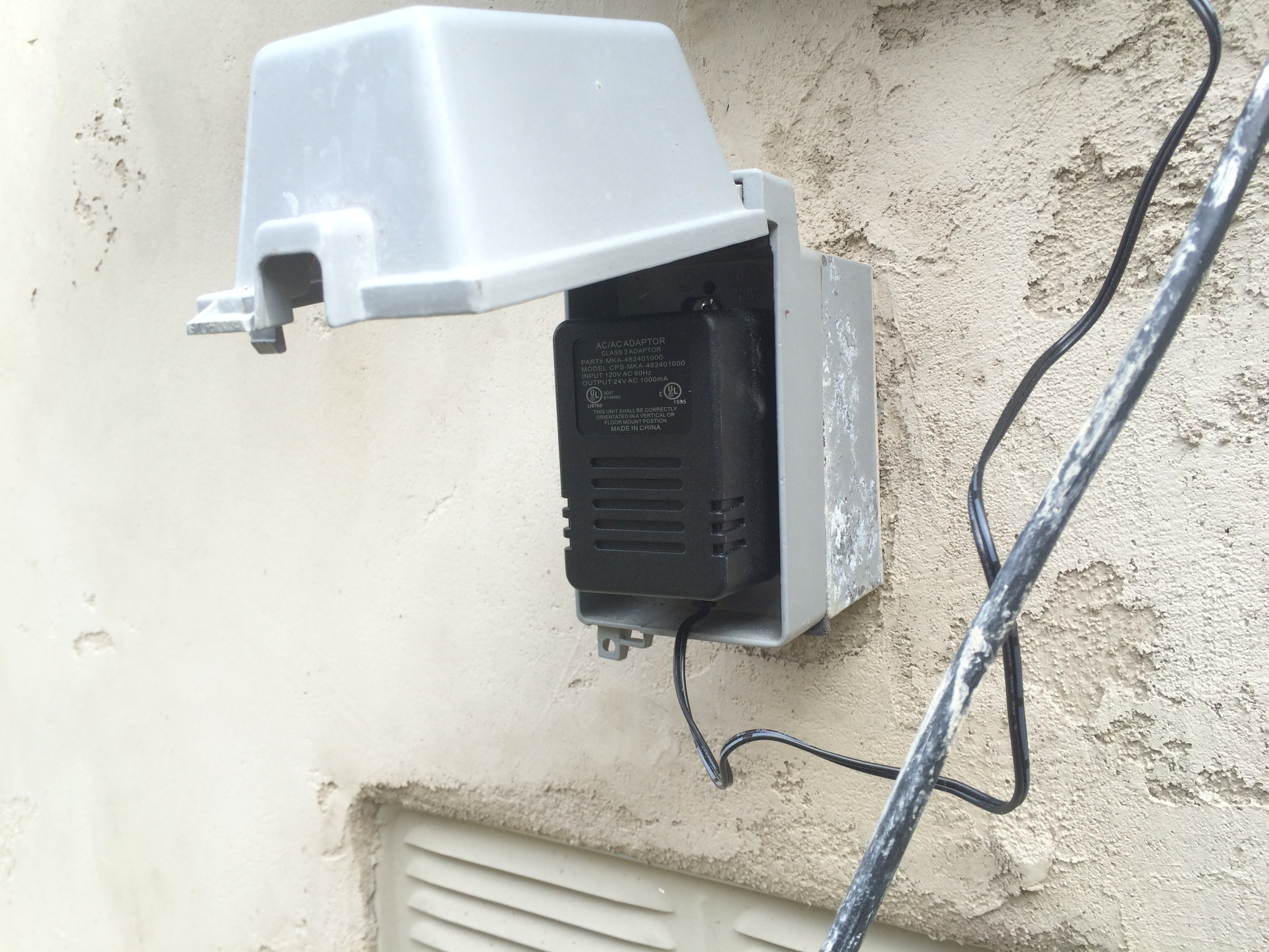 Weatherproof box electrical - Archive - Rachio Community