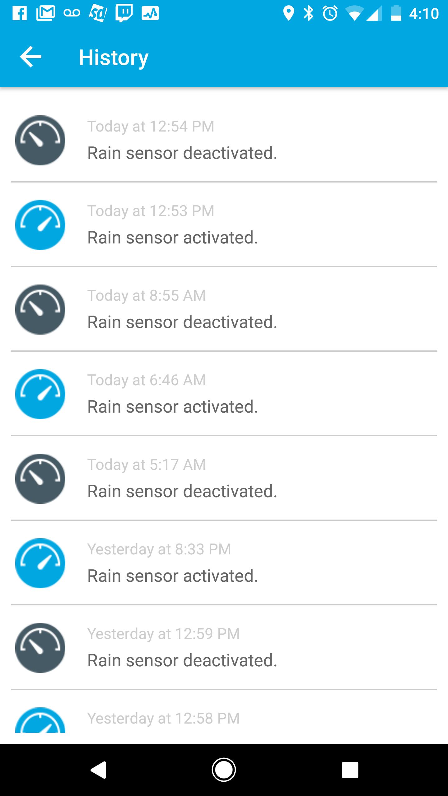 Replacing an existing water sprinkler system - Rain Sensors