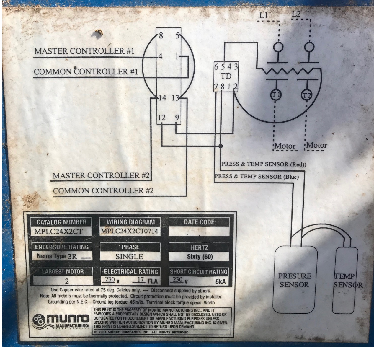 munro smart box wiring diagram 2 controllers with munro smart pump relays does it work  yes no  2 controllers with munro smart pump